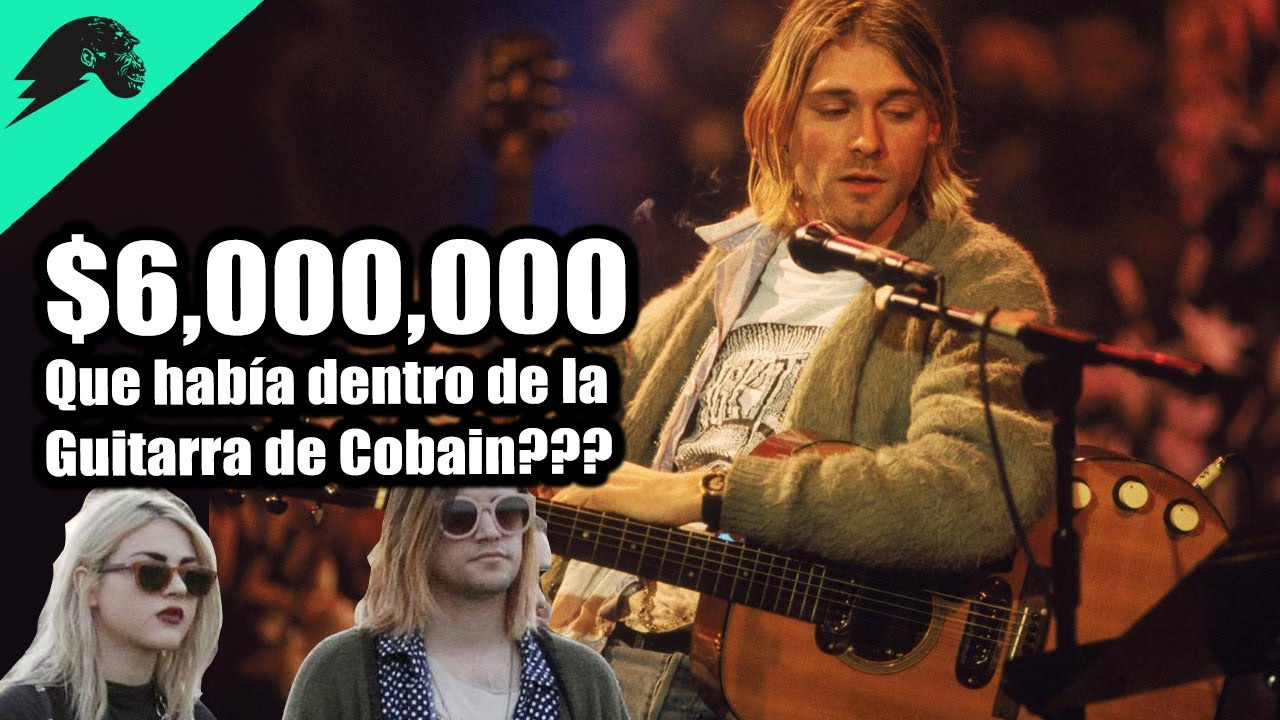 La Guitarra de Kurt Cobain se vende en 6 Millones, PERO, ¿Que habia dentro del estuche?