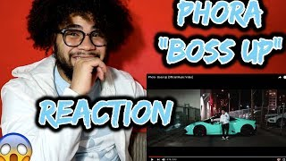Phora - Boss Up [Official Music Video] * SUPER LIT * REACTION & THOUGHTS | JAYVISIONS