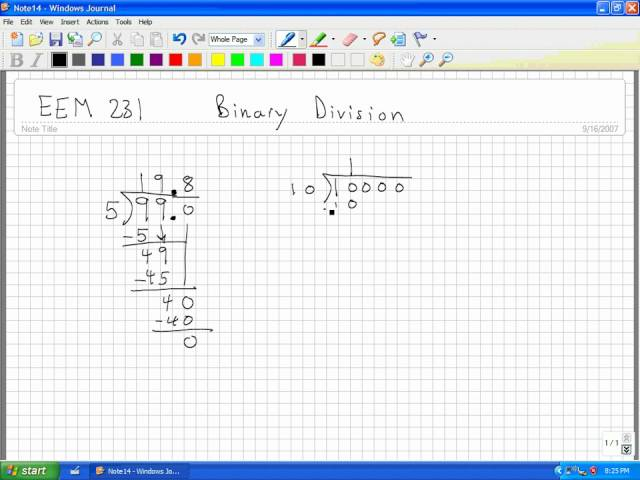 How to divide binary numbers 13 steps with pictures wikihow ccuart Choice Image