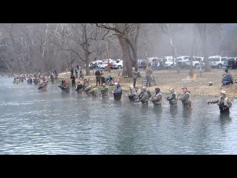 FISH4FUN: OPENING DAY OF TROUT SEASON AT BENNETT SPRINGS