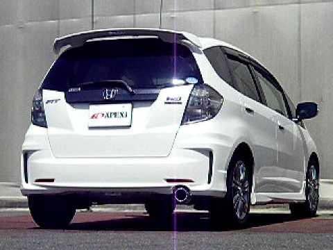 ホンダフィット HONDA Fit RS 6MT マフラー音質 - YouTube