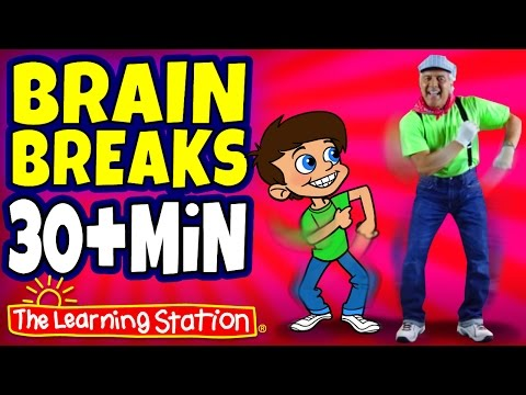 Boom Chicka Boom ♫  Brain Breaks Playlist for Children ♫ Action Songs for Kids ♫ Kids Camp Songs