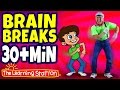 Boom Chicka Boom ♫  Brain Breaks Playlist For Children ♫ Action Songs For Kids ♫ Kids Camp Songs video