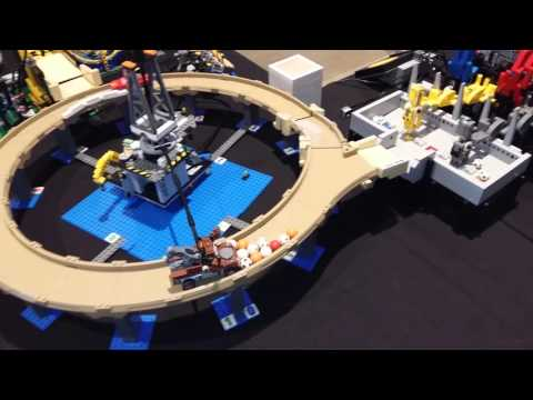 GBC circuit at LEGO World 2016 in Bella Center in Copenhagen Denmark