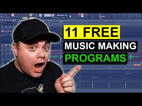 Best Free DAWs 2021 👉 Free Music Production Software For Windows 10
