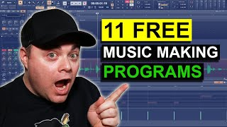 Best Free DAWs 2021 👉 Free Music Production Software For Windows 10 screenshot 5