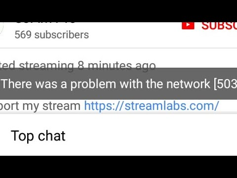 Fix There was a problem with the network [503] on YouTube app in