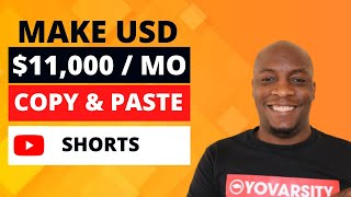 How To Make Money With YouTube Shorts | Copy & Paste And Earn $11,000/Mo Without Making Videos