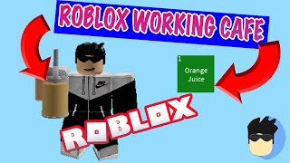 HOW TO MAKE A WORKING CAFE!  Roblox Studio