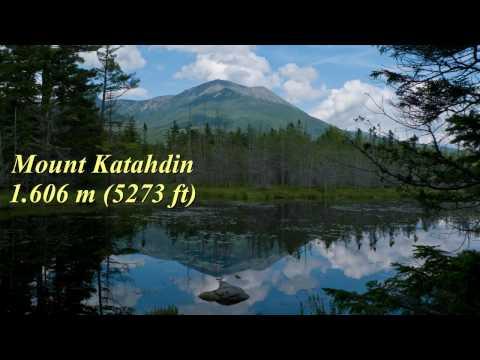 Wandern USA: Baxter SP in Maine Mt. Katahdin Saddle Trail