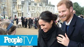 Prince Harry & Meghan Markle Visited A Castle And The Photos Are A Fairy Tale Come True! | PeopleTV