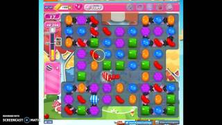 Candy Crush Level 1204 help w/audio tips, hints, tricks
