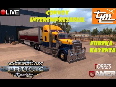 Convoy interempresarial | American Truck Simulator | T.L.M