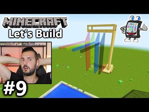 Minecraft WASSERPARK Bauen #9 - RUNNING-PARCOUR ÜBER DEN LÜFTEN! Let
