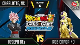 Dragon Ball Super Card Game Gameplay [DBS TCG] Charlotte Regional Round 5