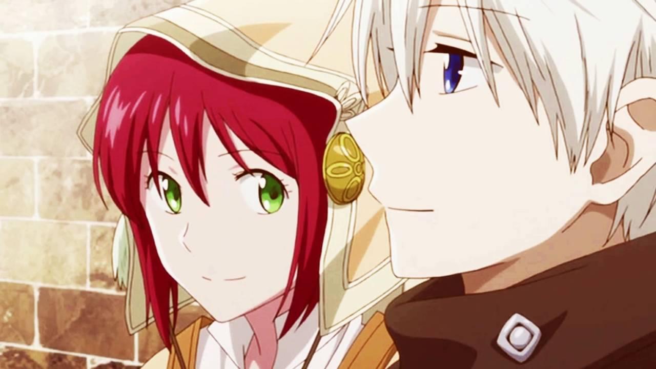 Картинки аниме красноволосая белоснежка зен