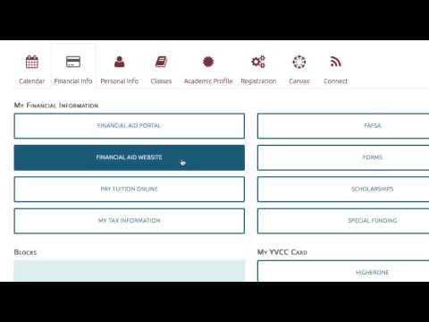 Yvcc Student Portal Tutorial Youtube