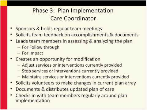 Care Coordinator and Parent Peer Support Role Clarification Training