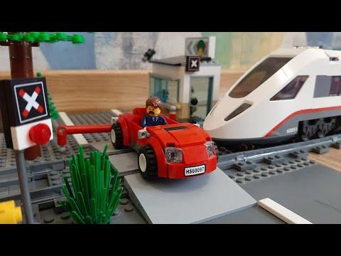 Мультфильм лего сити поезда