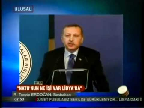 Tayyip Erdogan on NATO Intervention in Libya -- English Subtitles available
