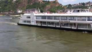 MS Rheingold am 17.07.2013 in Koblenz.