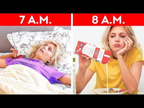 MY MORNINGS BE LIKE...