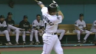 1995 ALDS Gm4: Edgar's two homers, seven RBIs
