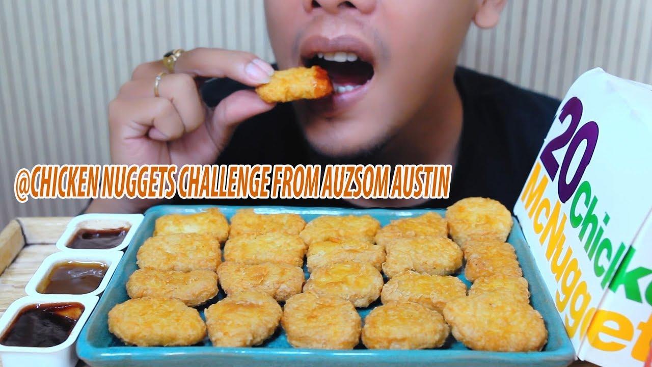 Asmr Mcdonalds Chicken Nuggets Challenge Auzsome Austin And Sas Asmr Eating Sounds Binh Asmr
