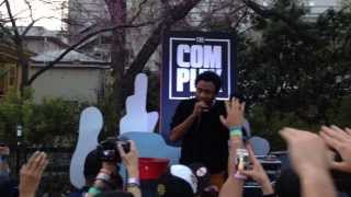 Childish Gambino Performs  The Worst Guys ft. Chance The Rapper At Complex Party House During SXSW