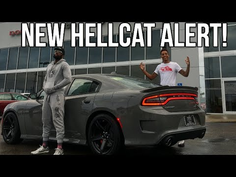 My Dawg Bought A Hellcat Charger!! Mr_Organik!!