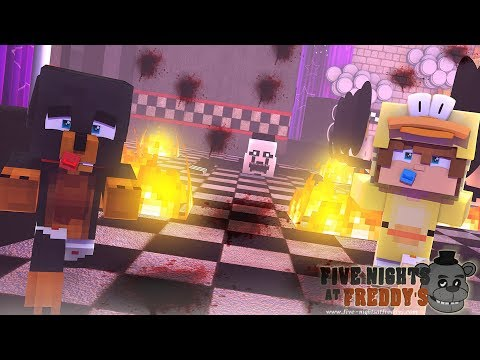 Minecraft Five Nights at Freddy's - THE PUPPET MASTER APPEARS