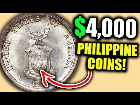 10 PHILIPPINE PESO COINS WORTH MONEY!! VALUABLE WORLD COINS