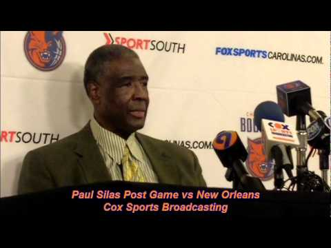 Paul Silas Post Game vs New Orleans.mov