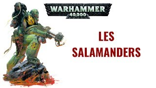 WH 40K FLUFF | Compendium Arcana : Les Salamanders | Planet Wargame