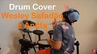 Baixar Romance com safadeza - Wesley Safadão e Anitta (Pierre Maskaro - 9 anos) Drum Cover