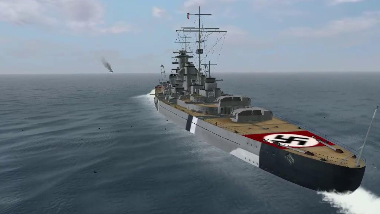 Silent Hunter 3 One Bismarck V One Hms Hood Youtube