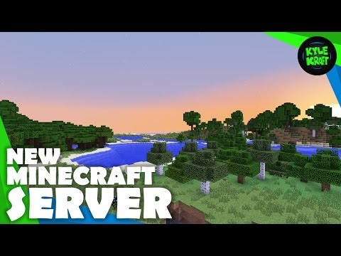 Launching the NEW KyleKraft Minecraft Survival Server!