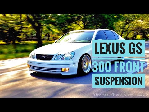 HOW TO SERVICE LEXUS GS 300 COMPLETE FRONT SUSPENSION