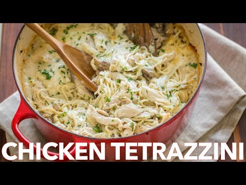 How To Make Easy Chicken Tetrazzini Casserole Recipe