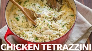 Easy Chicken Tetrazzini Casserole