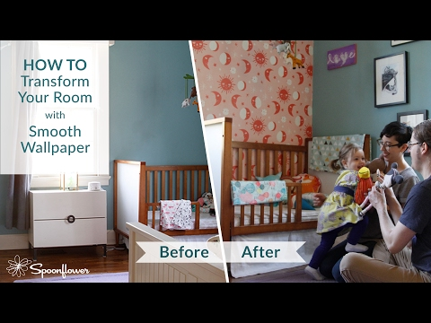 How To Install Spoonflower Smooth Wallpaper Transform Your