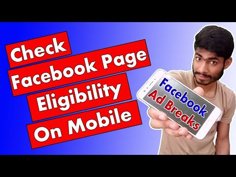 Check Facebook Page Eligibility from Mobile   Facebook Page Eligible For Monetization   Secret Guru