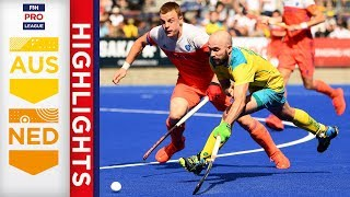 Australia v Netherlands | Week 3 | Men's FIH Pro League Highlights
