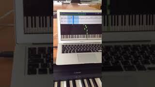 Компьютерный тренажёр по фортепиано