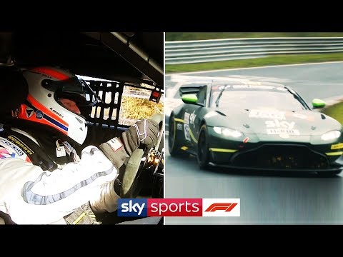 Martin Brundle races the infamous Nordschleife with his son!