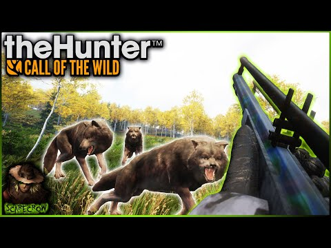 """""""Muzzling"""" The Wolves Of Yukon Valley! Hunting Gray Wolves With The Muzzleloader! Call of the wild"""