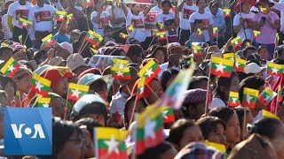 Myanmar: Thousands Rally for Aung San Suu Kyi Ahead of Hague Court Hearing
