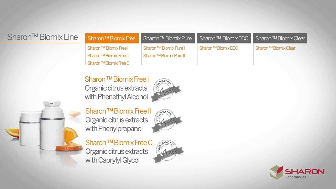 Natural: Sharon™ Biomix line • Sharon Laboratories