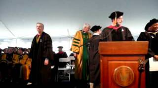 Albert receiving the Juris Doctor degree at Vermont Law School Graduation 5/22/2010(, 2010-05-23T17:54:35.000Z)