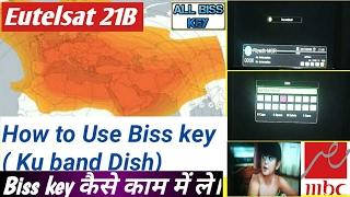 Eutelsat 21B Biss key Encryption Unlocked Educational Video